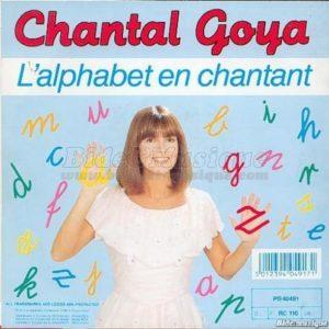 alphabet chantal goya