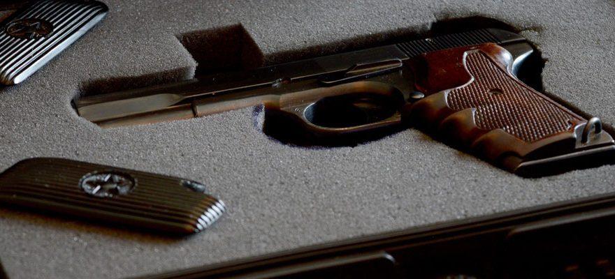 Garder ses armes en sécurité à domicile